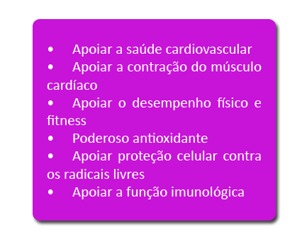 Rendimiento fitness: Coenzima Q-10 l-carnitina
