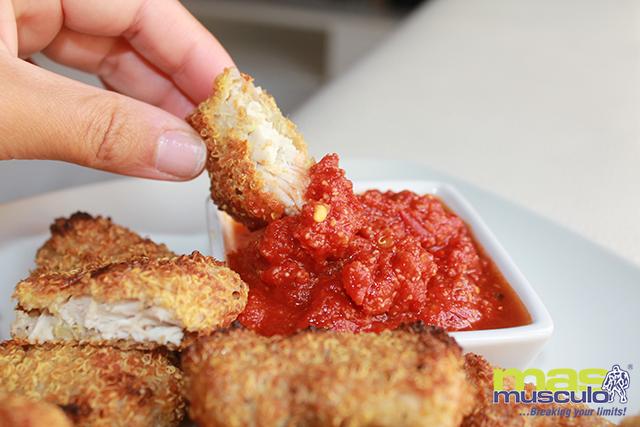 10-nuggets-de-pollo-con-quinoa